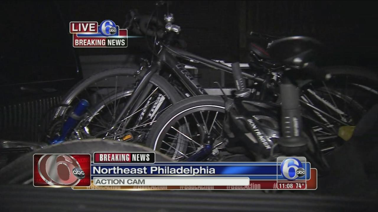 VIDEO: Wounded Warriors bikes recovered