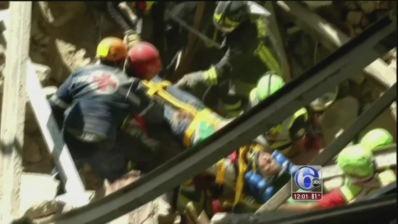VIDEO: Dozens killed in Italy quake