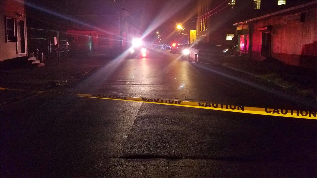 A little girl is in critical condition after a shooting in Camden, New Jersey.