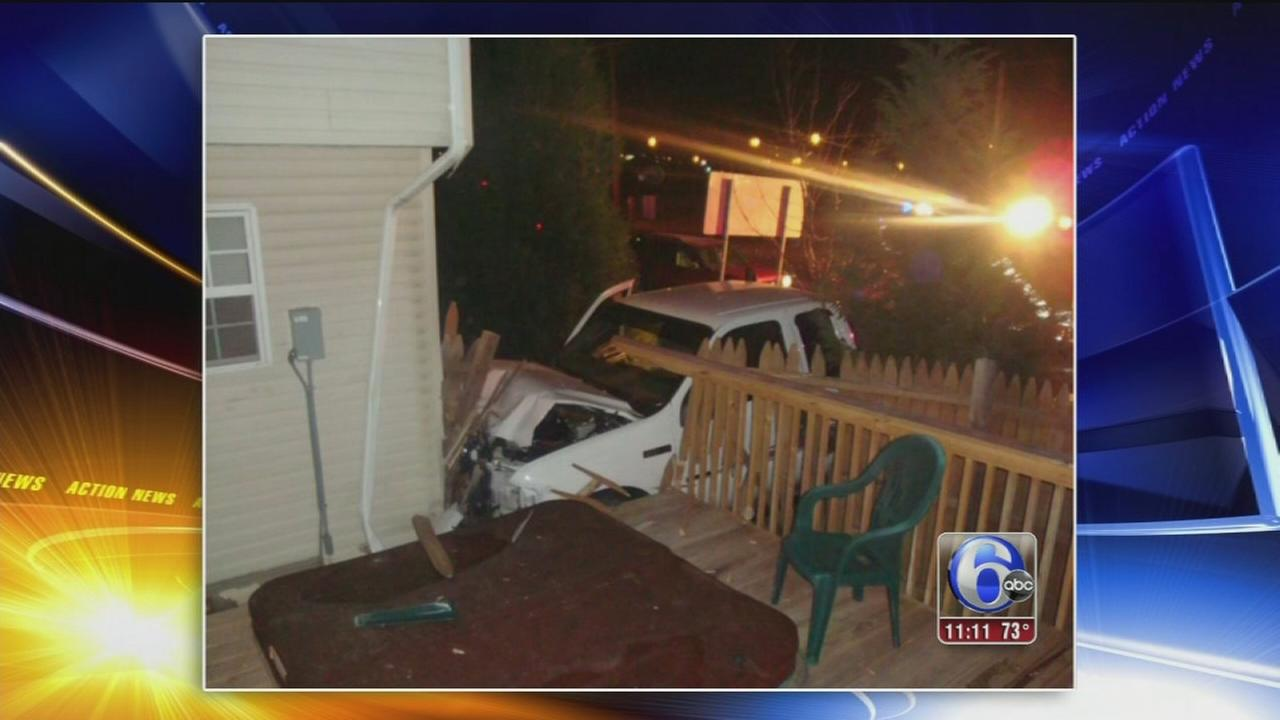VIDEO: House crash