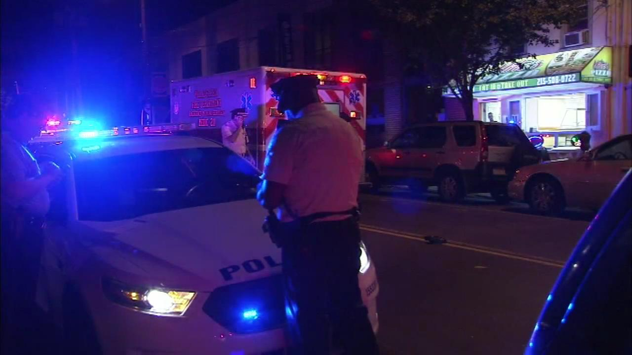 PICTURES: Police sergeant struck by hit-and-run driver in Manayunk
