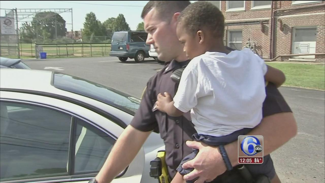 VIDEO: Boy, 3, found wandering alone in Collingdale
