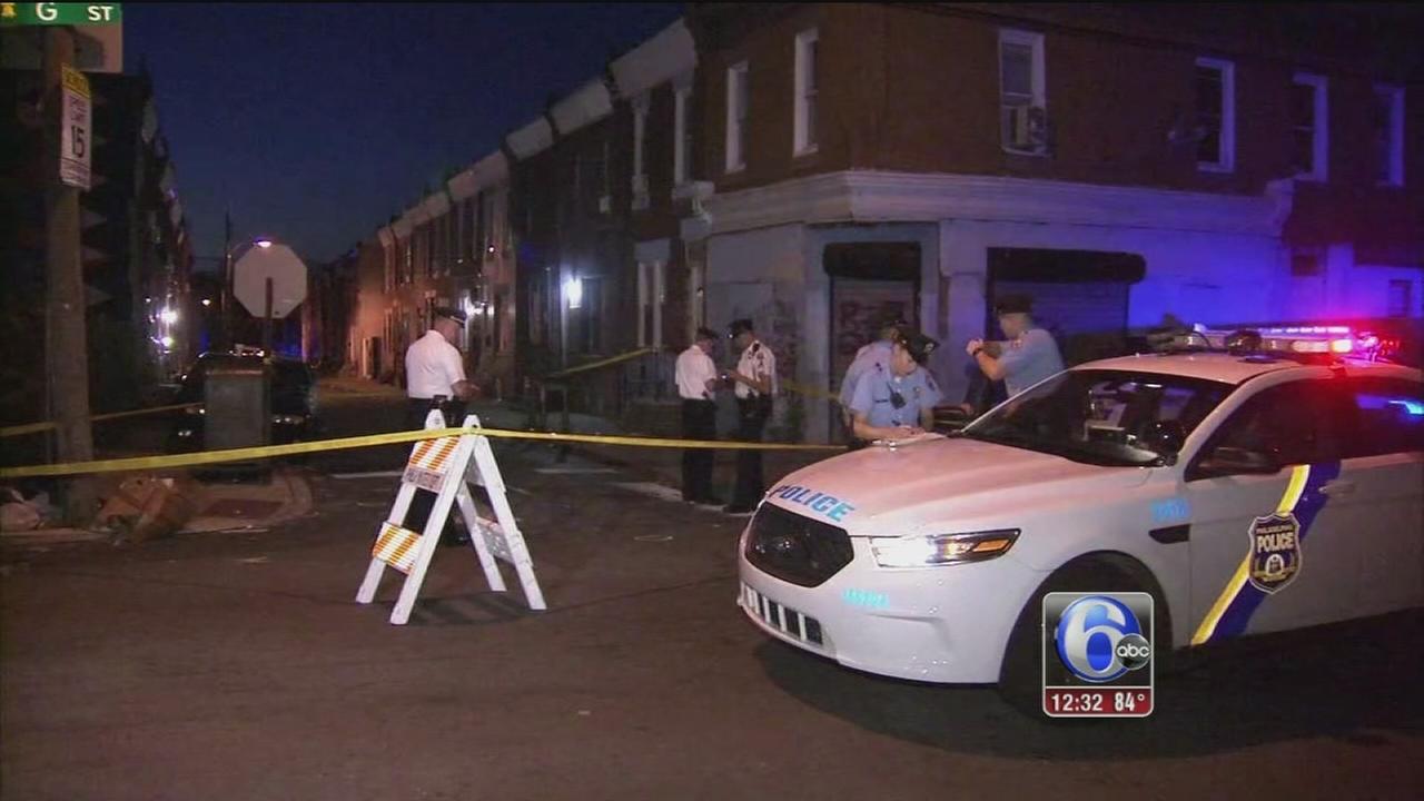 VIDEO: Man shot in Kensington