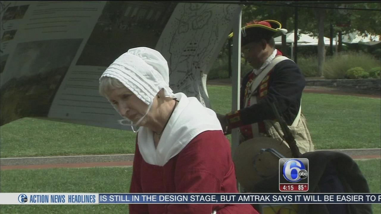 VIDEO: Historic celebration at Independence Nat?l Historical Park