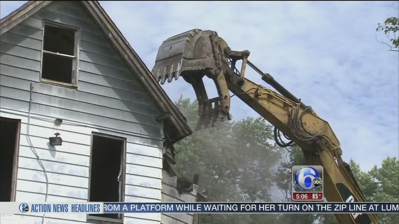 VIDEO: Demolition in Camden