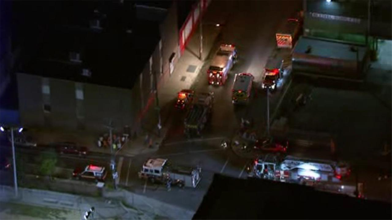 A hazmat situation has prompted the evacuation of a building in Philadelphias Juniata section.