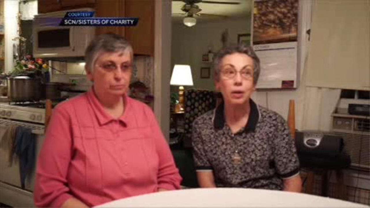 Sister Paula Merrill and Sister Margaret Held