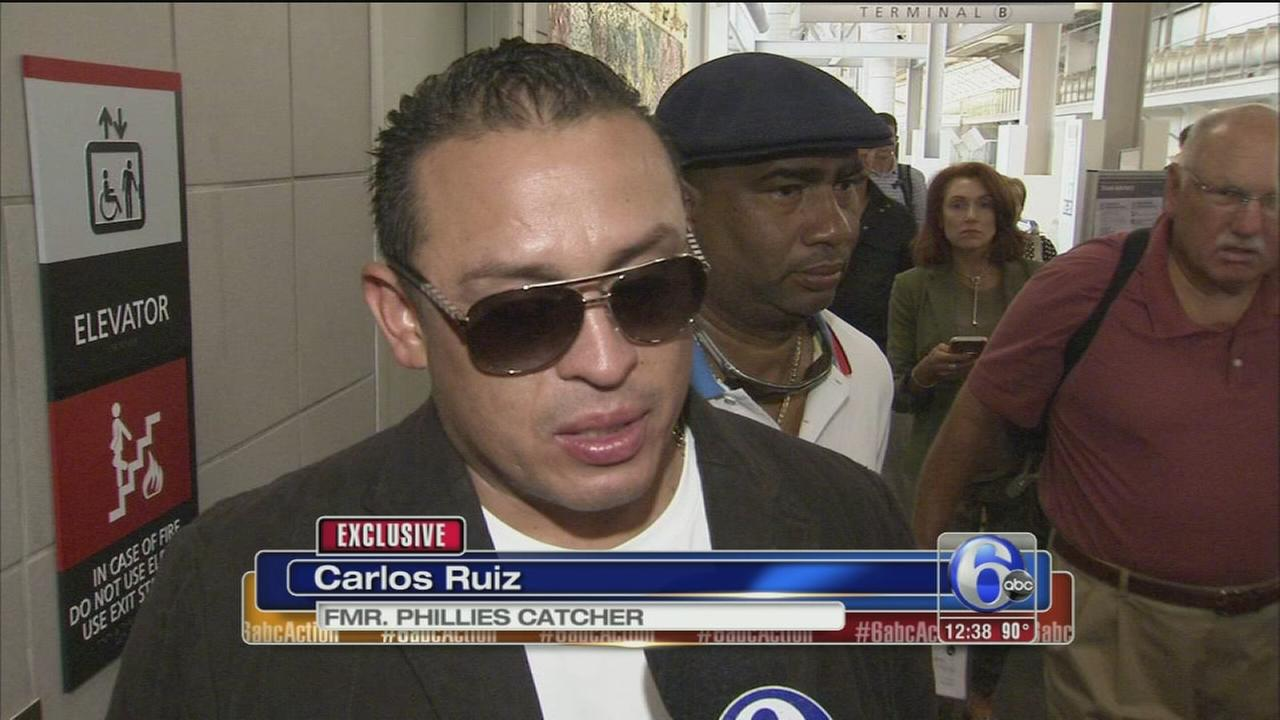 VIDEO: Action News talks to Carlos Ruiz after trade