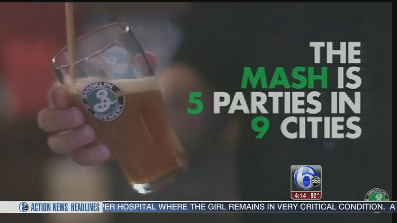 VIDEO: Brooklyn Brewery brings 2016 Mash tour to Philadelphia