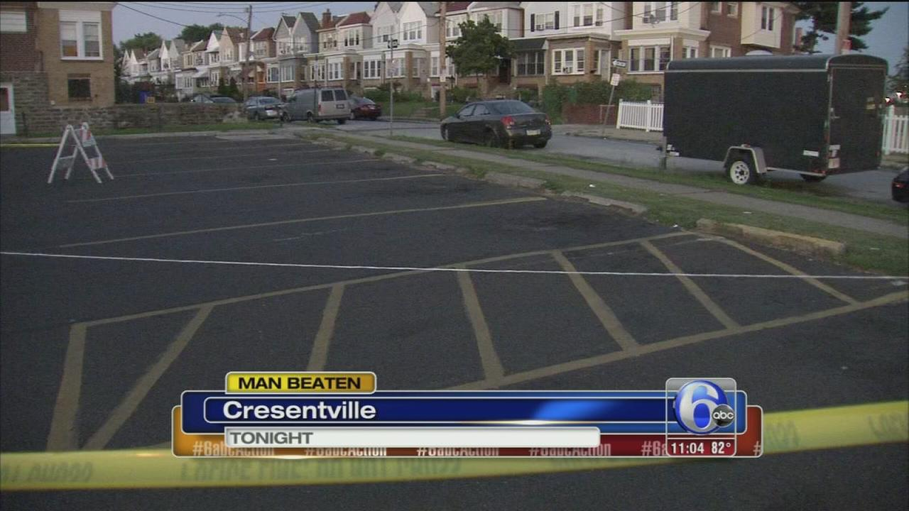 VIDEO: Man beaten in Crescentville