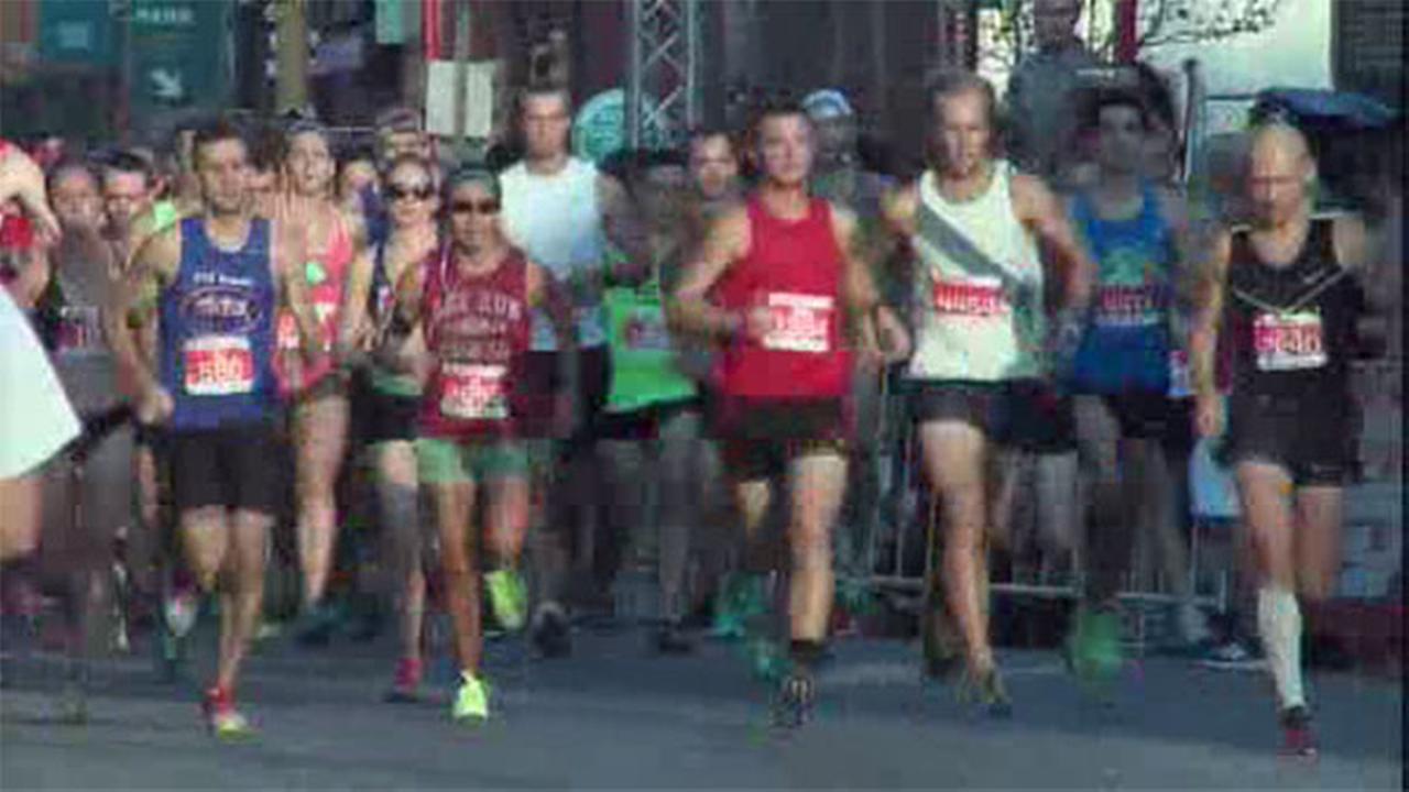 Hundreds finish 10K race in Philadelphia