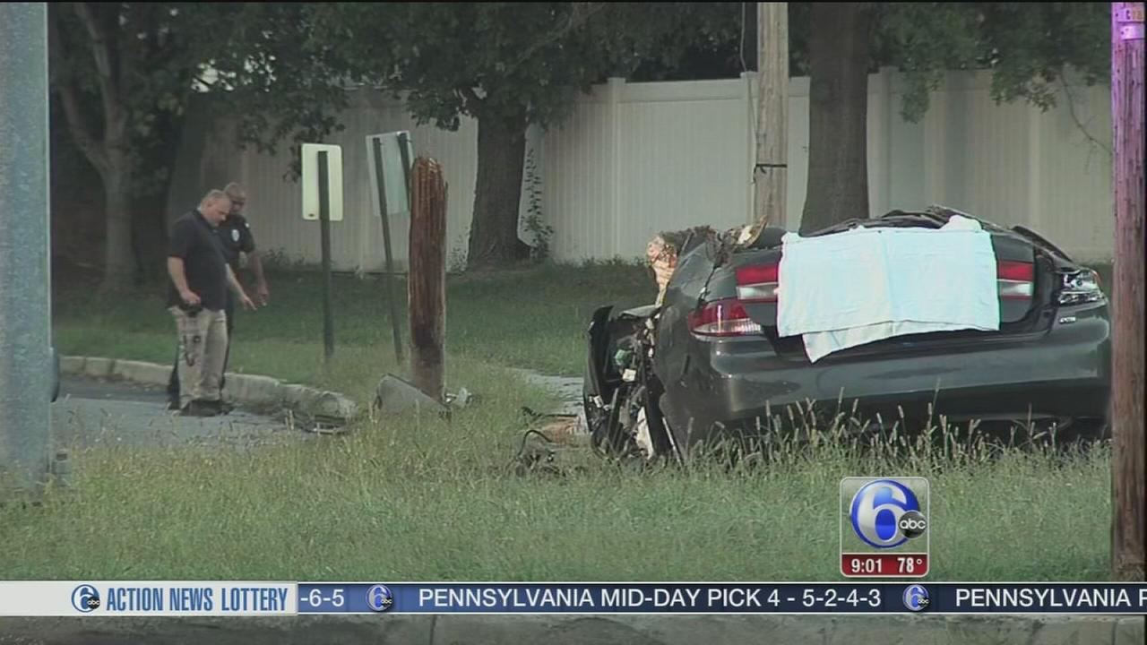 VIDEO: Driver killed in vehicle crash in Camden County