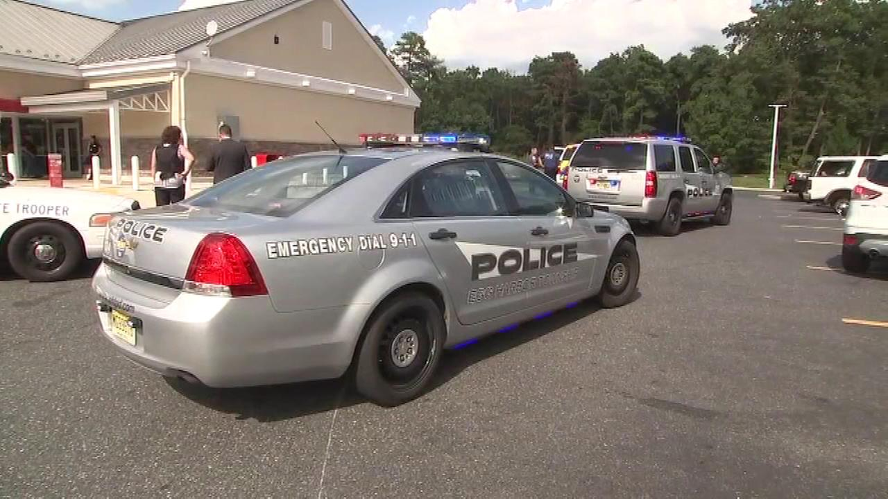 Police in Egg Harbor Township respond to a shooting at a Wawa on Tilton Road.
