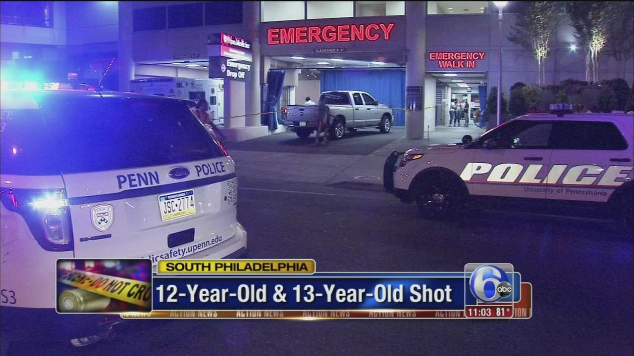 VIDEO: 2 kids injured in double shooting