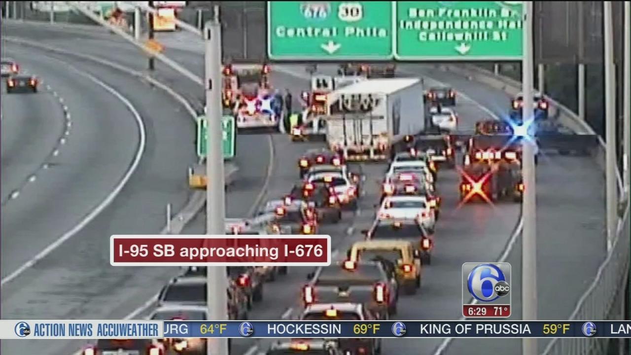 VIDEO: Crash on I-95 South