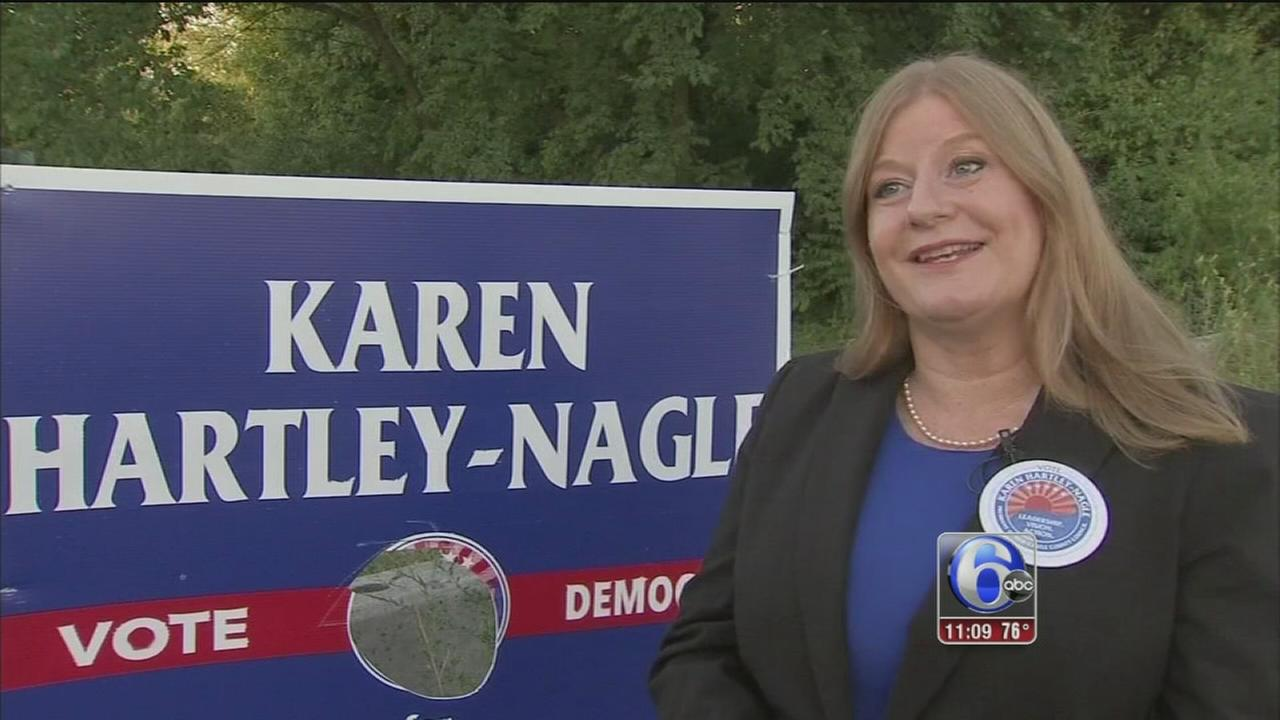 VIDEO: Del. candidate claims theft by opponent