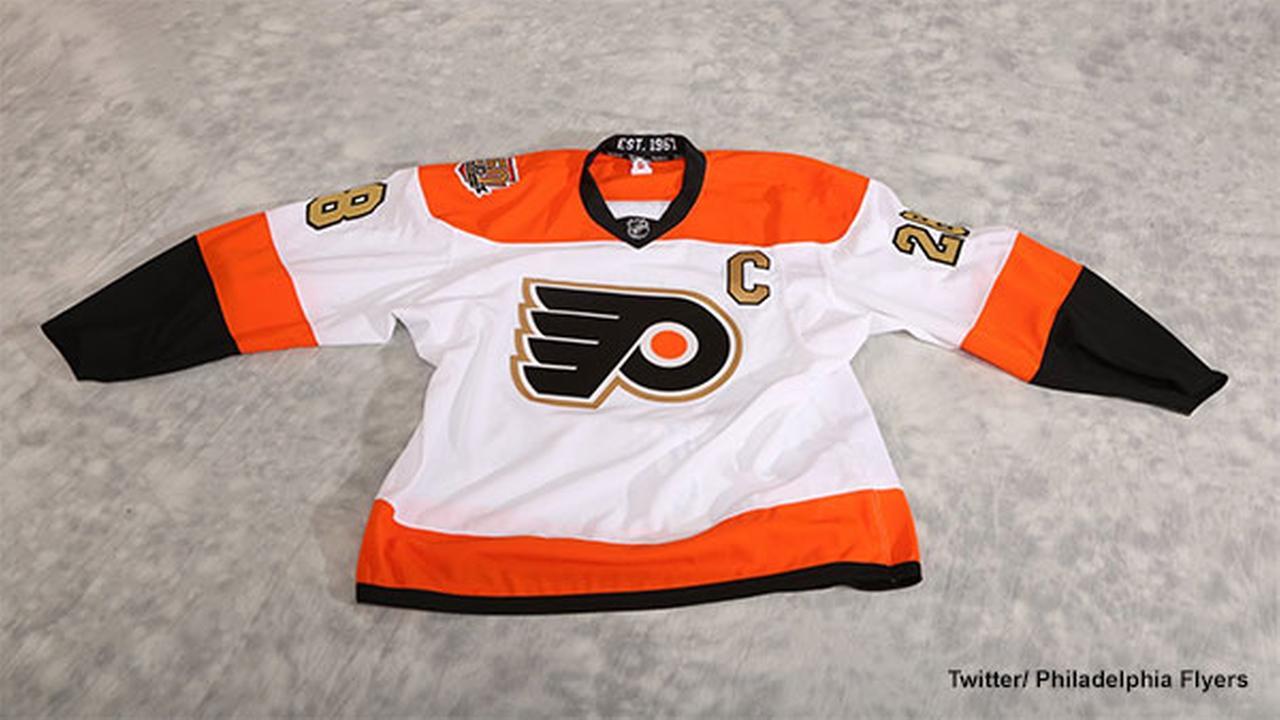 Philadelphia Flyers unveil 50th anniversary jersey