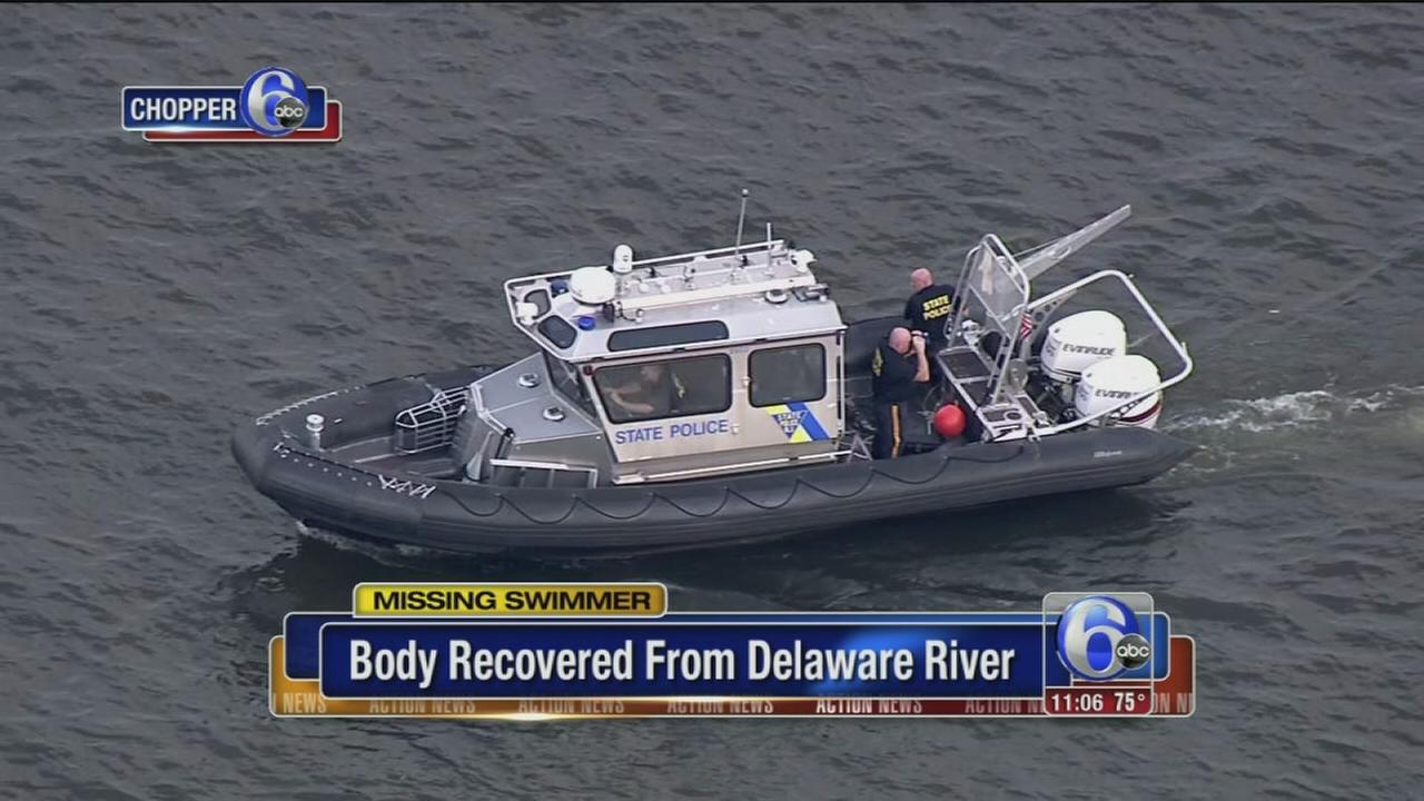 VIDEO: Missing swimmer