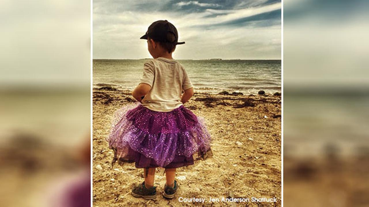 Mom defends sons decision to wear purple tutu