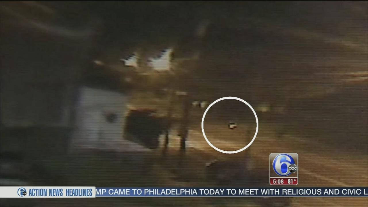 VIDEO: Man questioned after bicyclist killed in Frankford hit-and-run