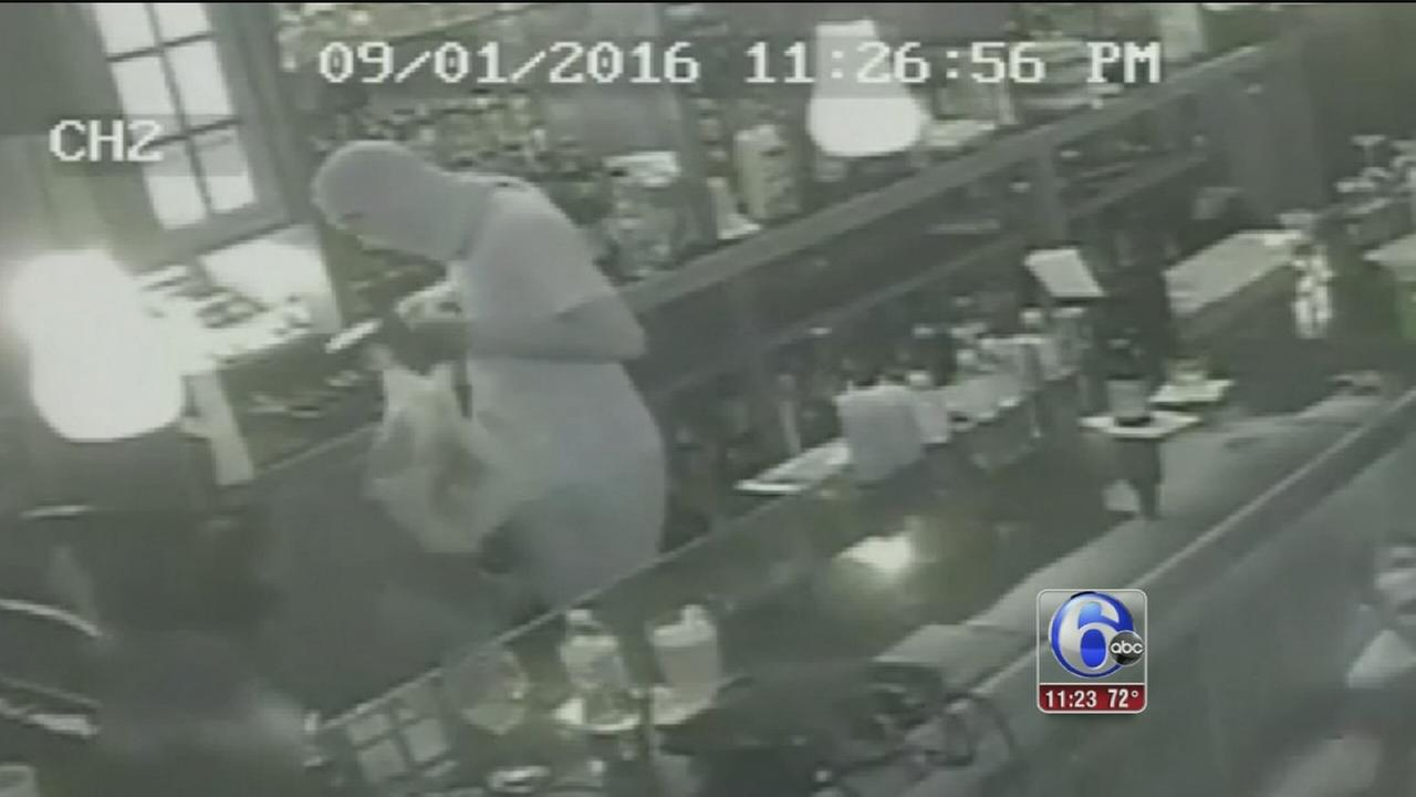 VIDEO: Bar robbery