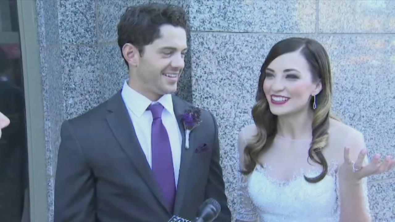 VIDEO: Wedding disrupted by earthquake