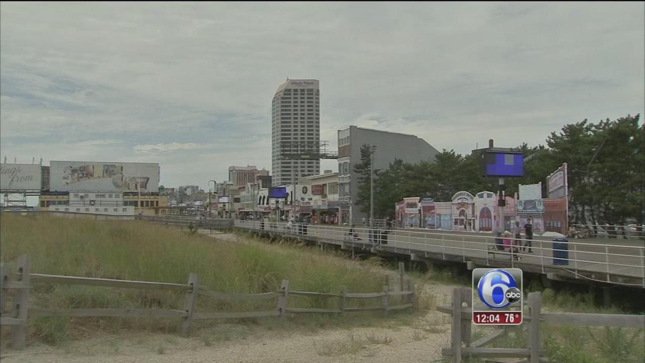 VIDEO: The aftermath of Hermine in Atlantic City