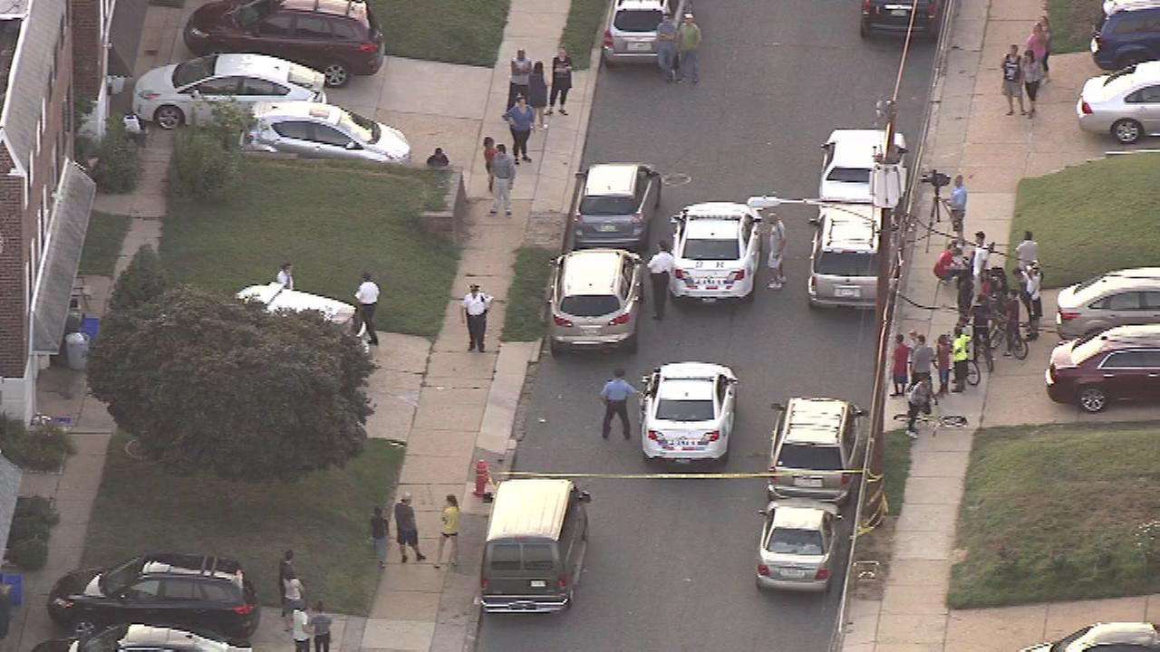 Police are investigating a shooting in Northeast Philadelphia.