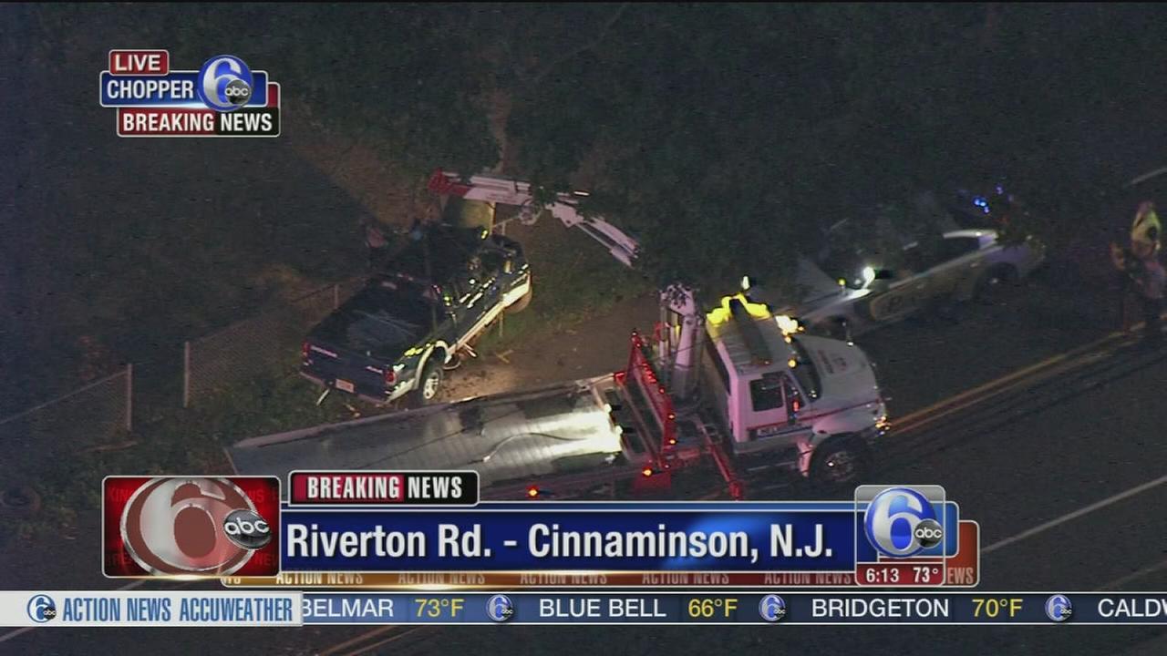 VIDEO: Deadly crash in Burlington Co.