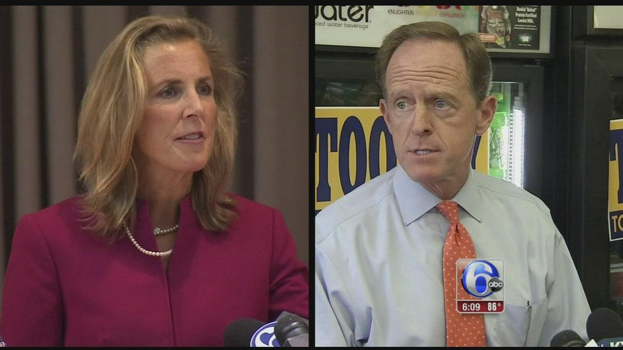 VIDEO: Pa. Senate race