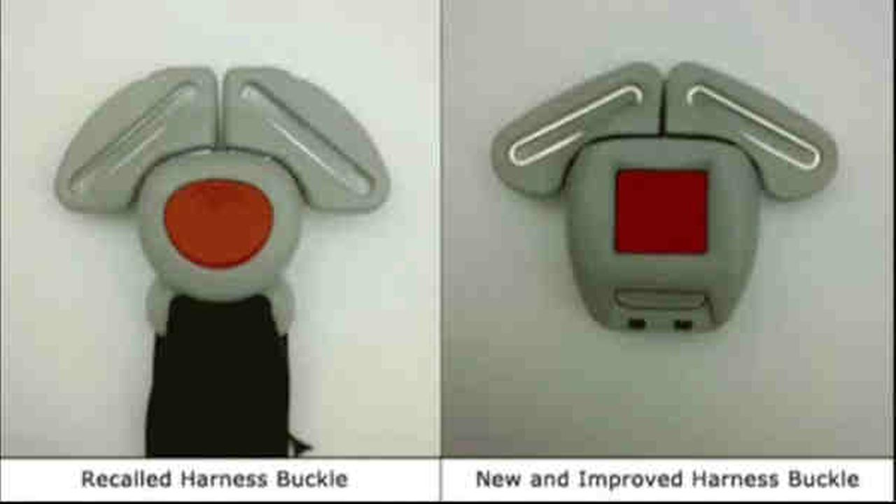 Graco Buckle Recall >> Graco recalls buckles on 1.9 million infant car seats, offers free replacement buckle | abc13.com