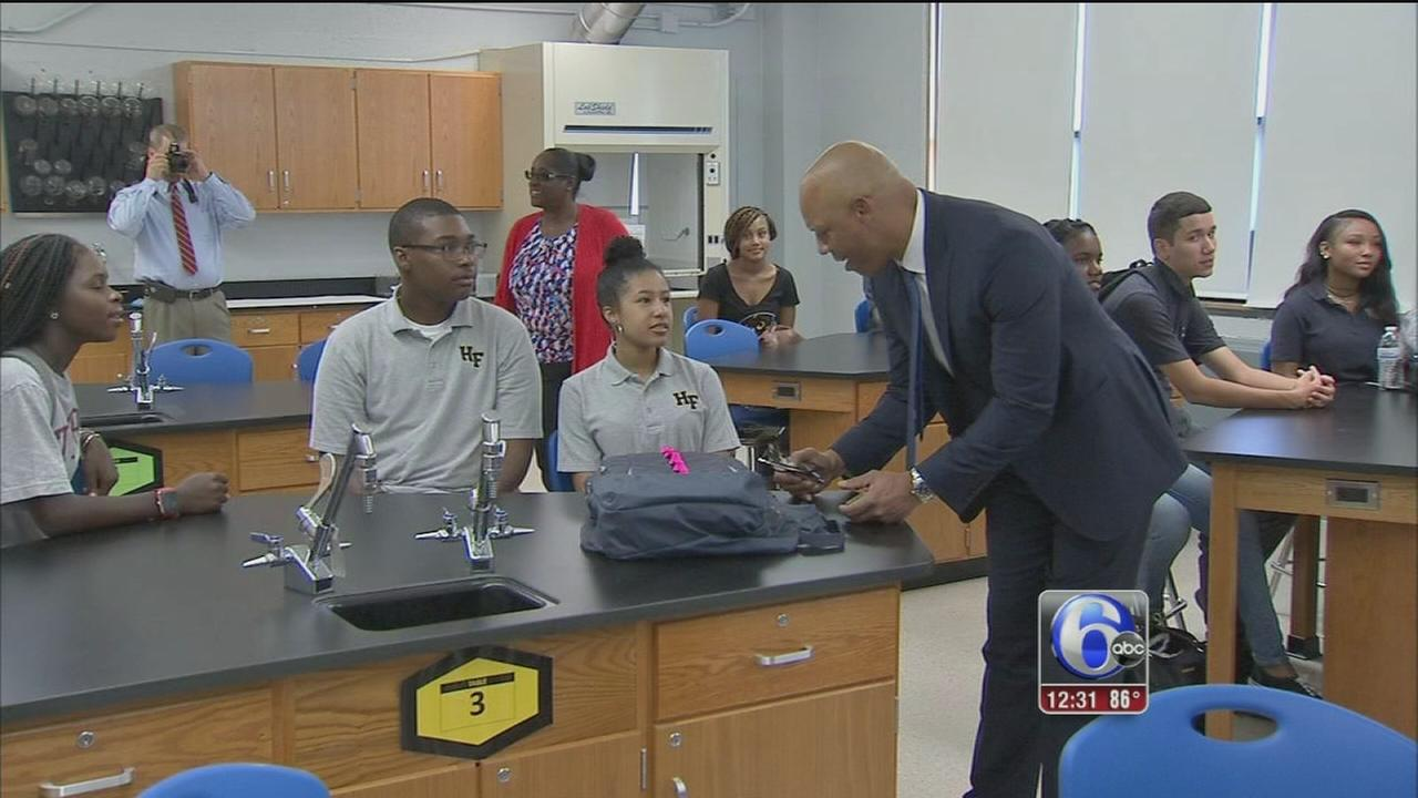 VIDEO: Back to school in Philly