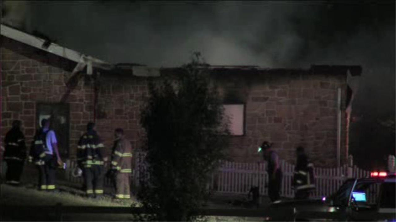 Crews battle 2-alarm house fire in Burlington Co.