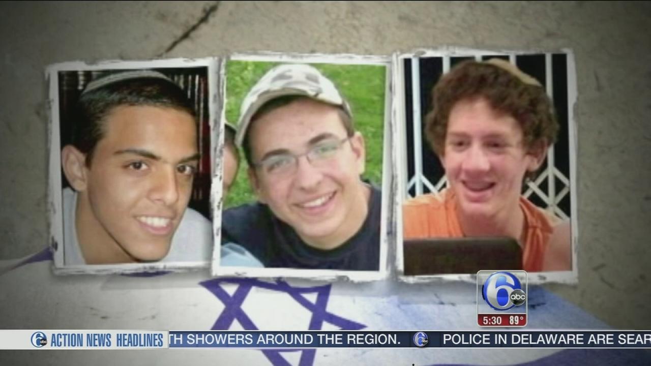 VIDEO: Thousands of Israelis mourn slain teens