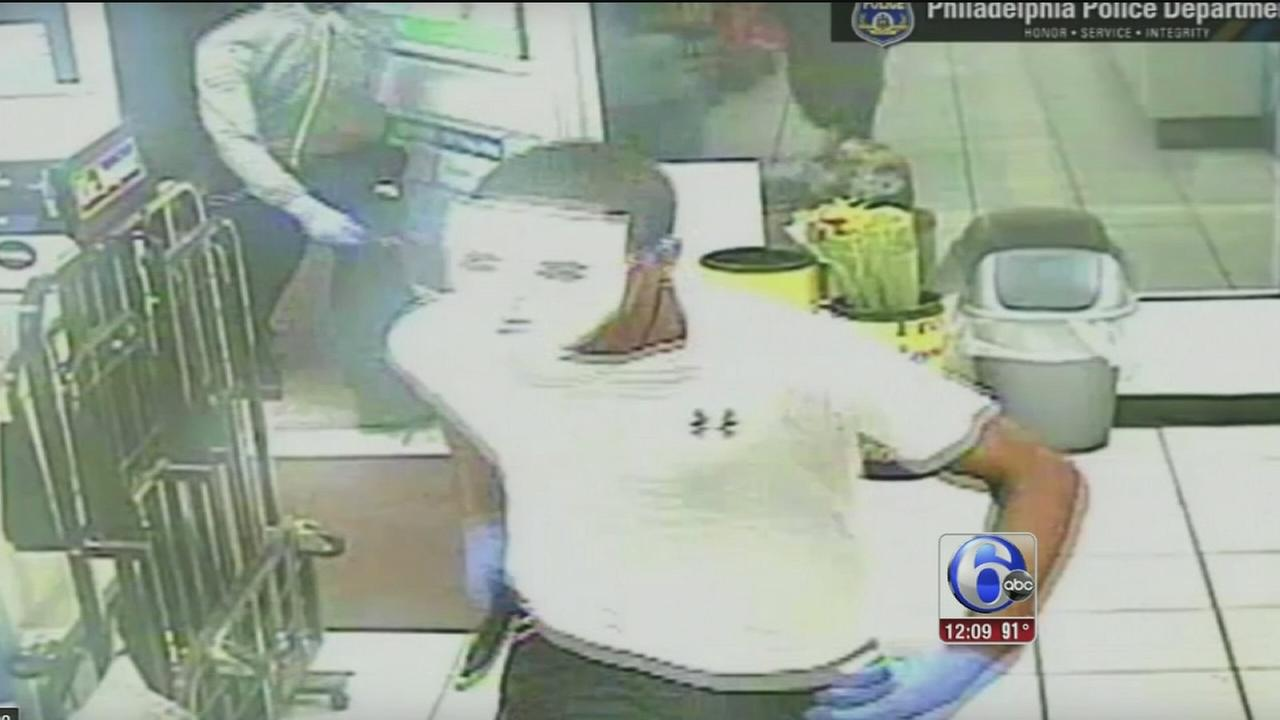 VIDEO: Masked men rob 7-Eleven store in Roxborough