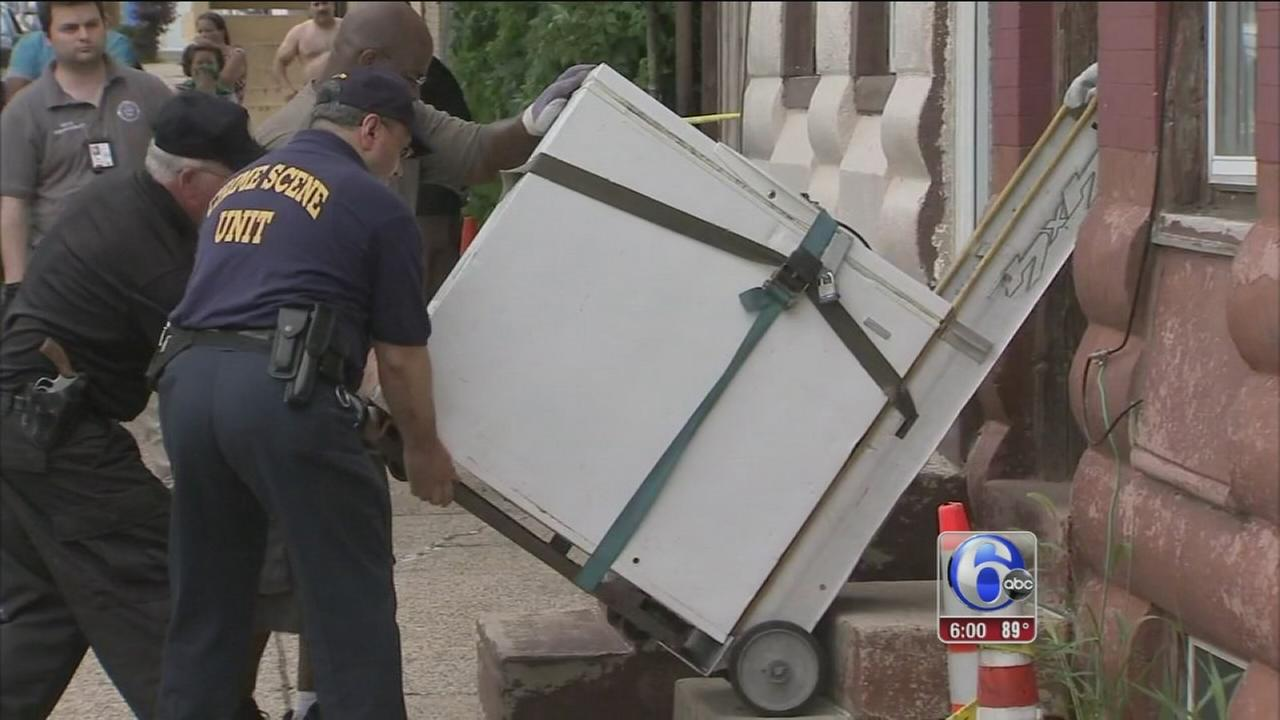 VIDEO: Woman found dead in freezer
