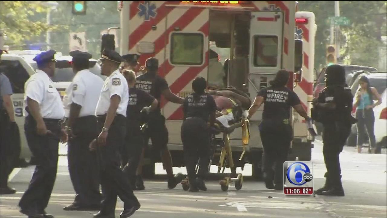 VIDEO: Barricade situation