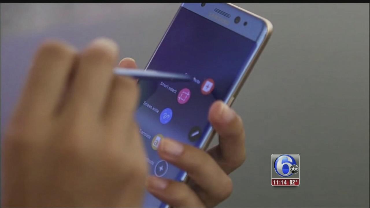 VIDEO: Samsung explosive warning