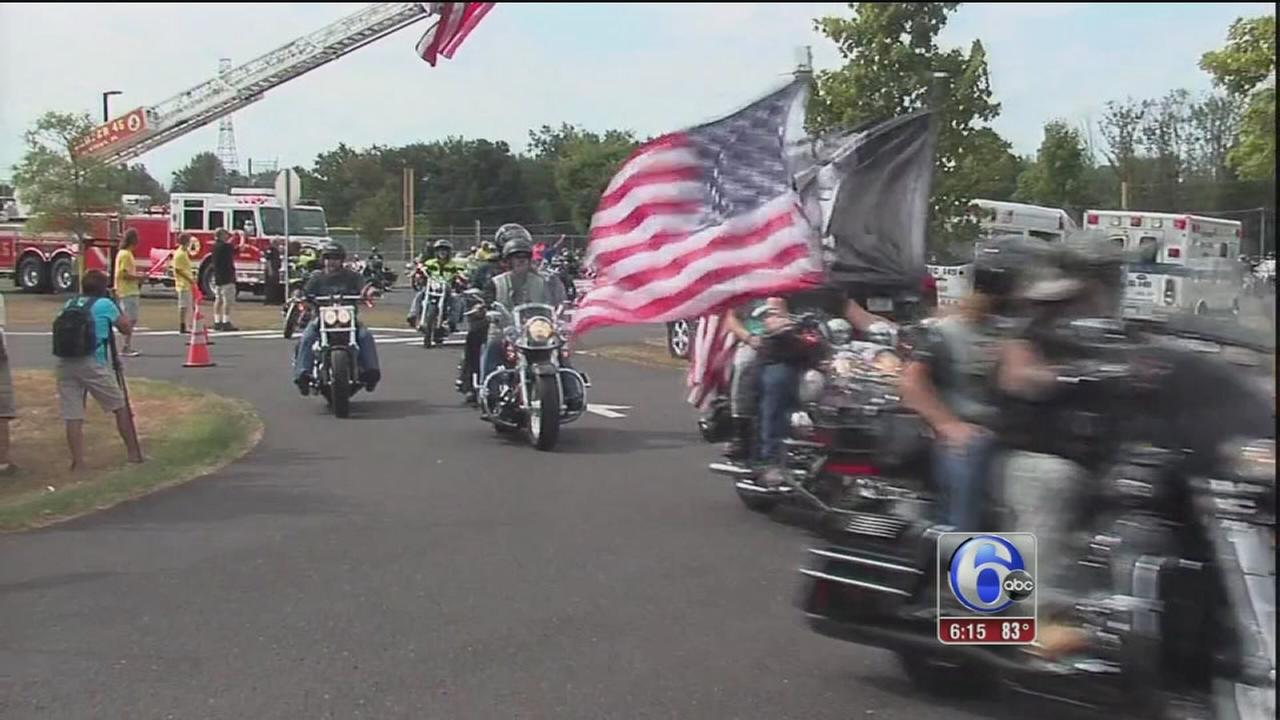 VIDEO: Ride for heroes