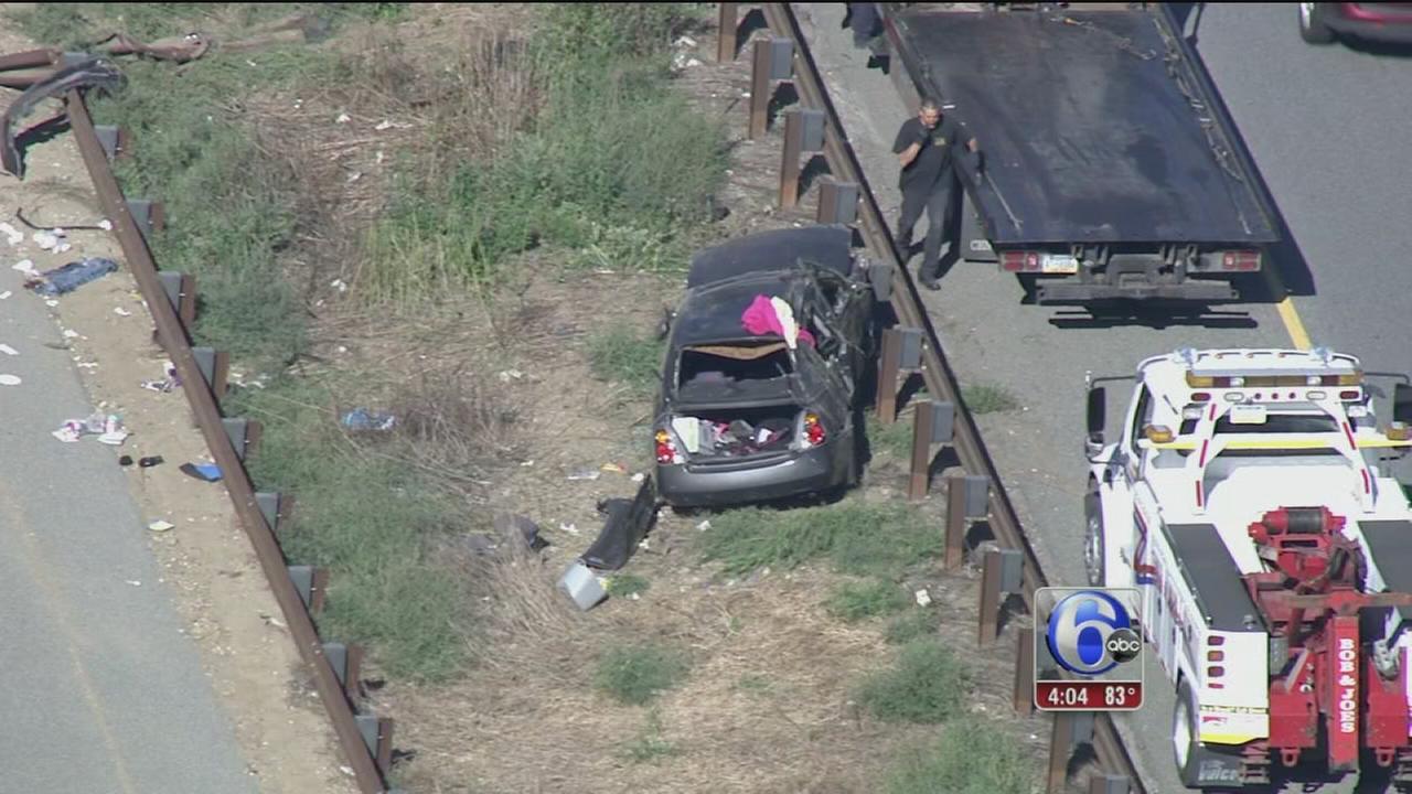 VIDEO: Crash on Blue Route