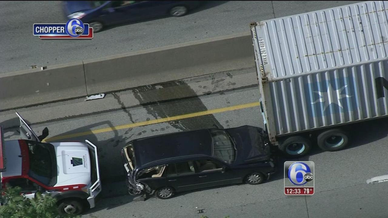 VIDEO: Crash on WB I-76