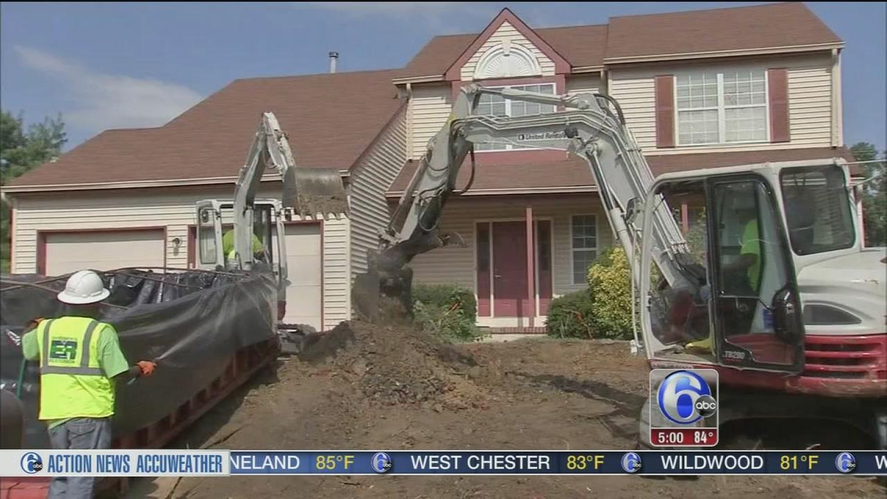 VIDEO: Buried battery cleanup continues in Gloucester Co.