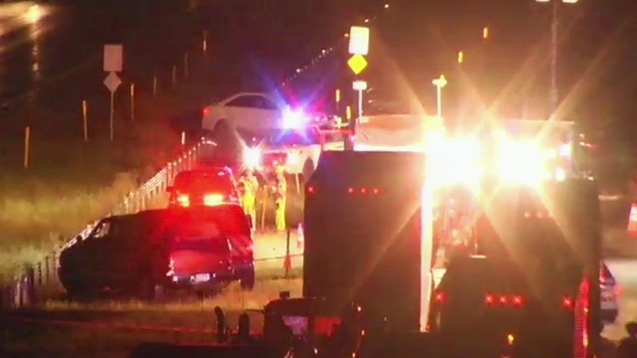 PICTURES: Scene of deadly crash that closed I-78 EB in Northampton County