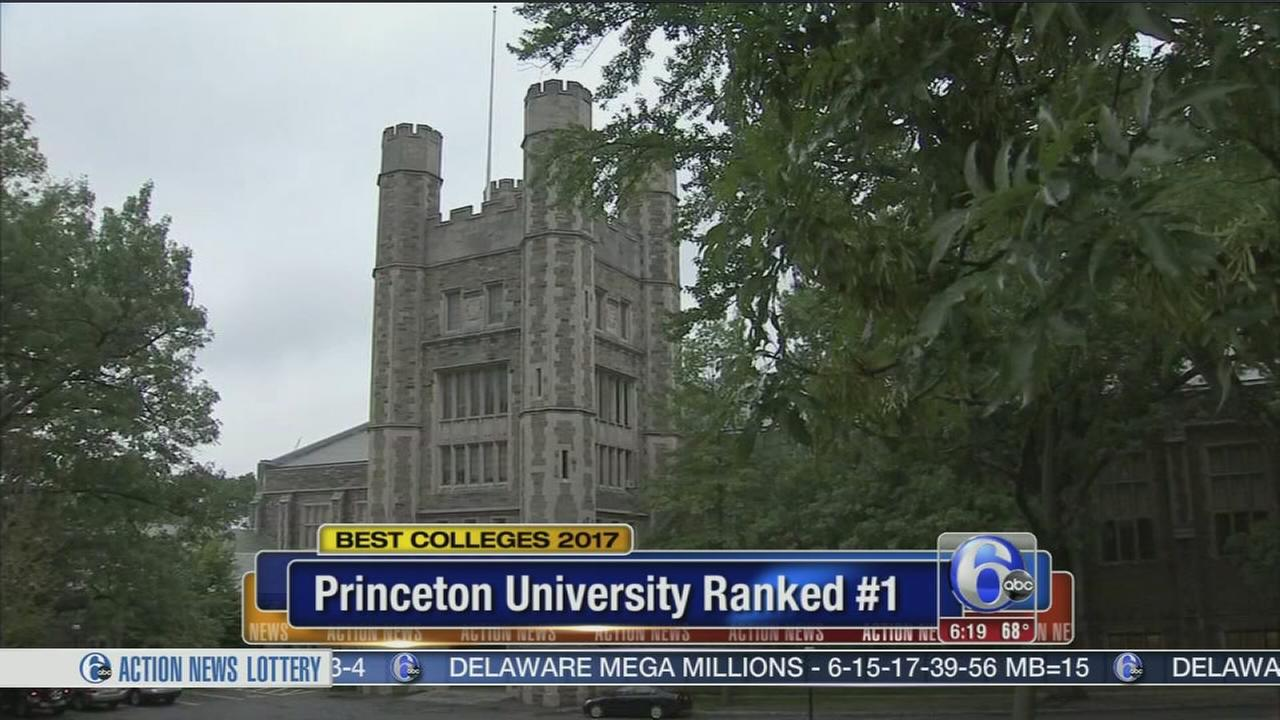 VIDEO: Princeton ranks #1 in top colleges