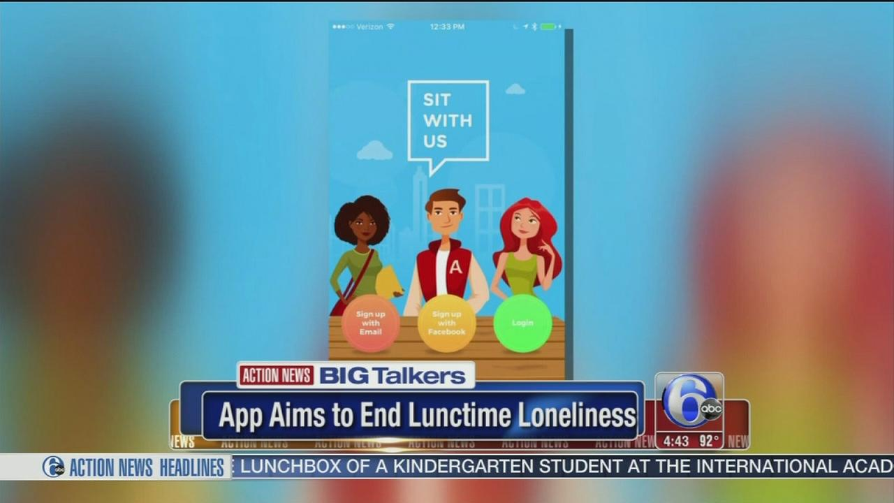 VIDEO: Teen creates app to help students find lunch buddies