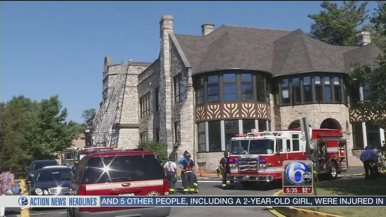 VIDEO: School fire
