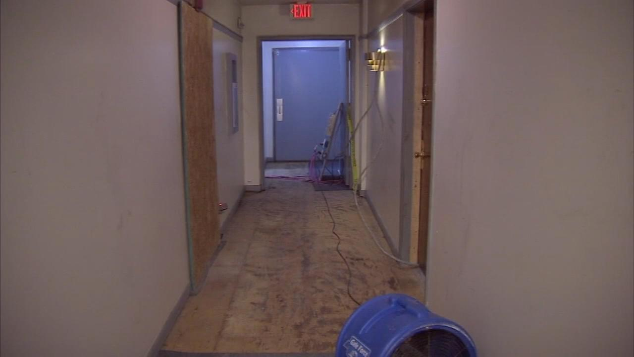 Residents say it all started with a putrid smell that traveled through the vents and hallways of an apartment complex on the 500 block of East Church Lane in Germantown.