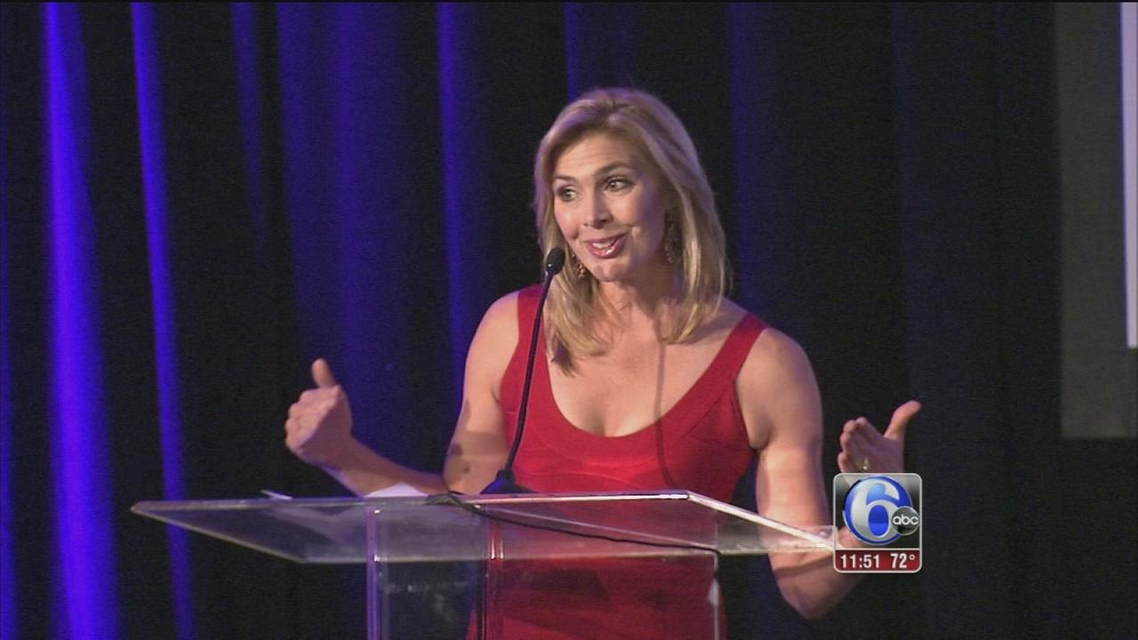 Karen Rogers Emcees Alzheimer's Awareness Event In Center