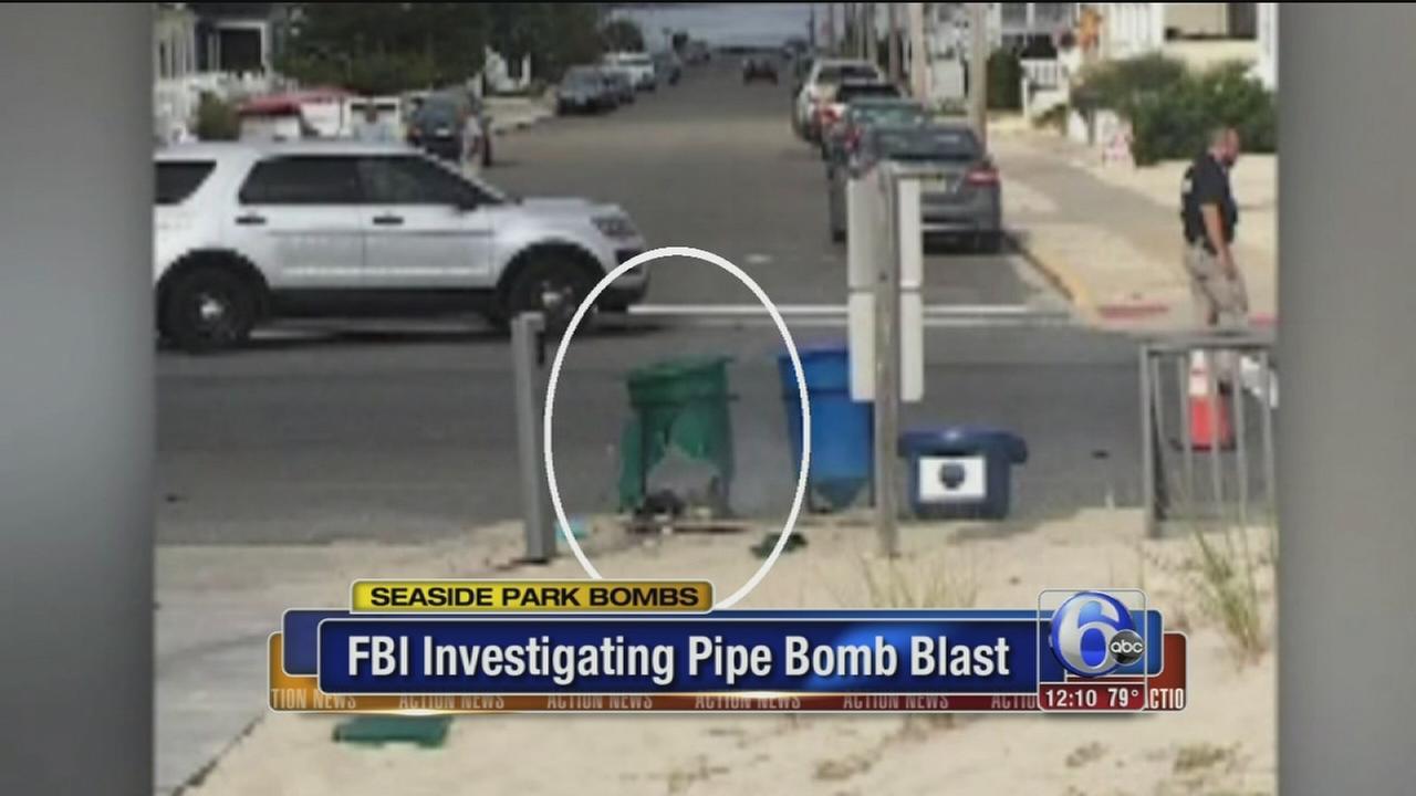VIDEO: FBI investigating pipe bomb blast