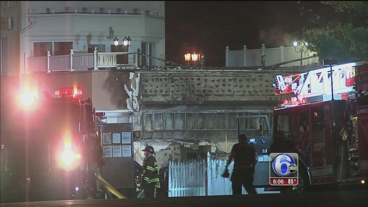 VIDEO: Voorhees fire
